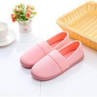 兔球家 日式春秋冬季包跟月子鞋孕妇鞋软底防滑保暖四季棉拖