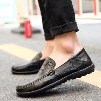 豆豆鞋男冬季男鞋男士休闲鞋皮鞋男懒人男鞋韩版百搭个性加绒