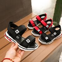 女童凉鞋韩版夏季中大童学生男童小孩儿童软底沙滩凉鞋