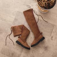 女童靴子秋冬季过膝长靴2018新款韩版儿童高筒靴小女孩时尚过膝靴