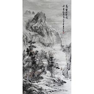 实力派画家   王岩    精品水墨   万壑树声满千崖秋气高