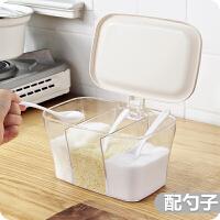 调味盒个性 创意 可爱调味盒三合一烧烤调料罐 组合 全套厨房