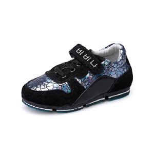 比比我童鞋2017春秋季儿童休闲鞋运动鞋款魔术贴休闲鞋