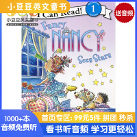 英文原版Fancy Nancy Sees Stars I Can Read [4-8岁]
