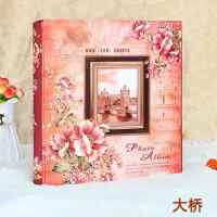盒装大6寸插页式相册宝宝家庭影集