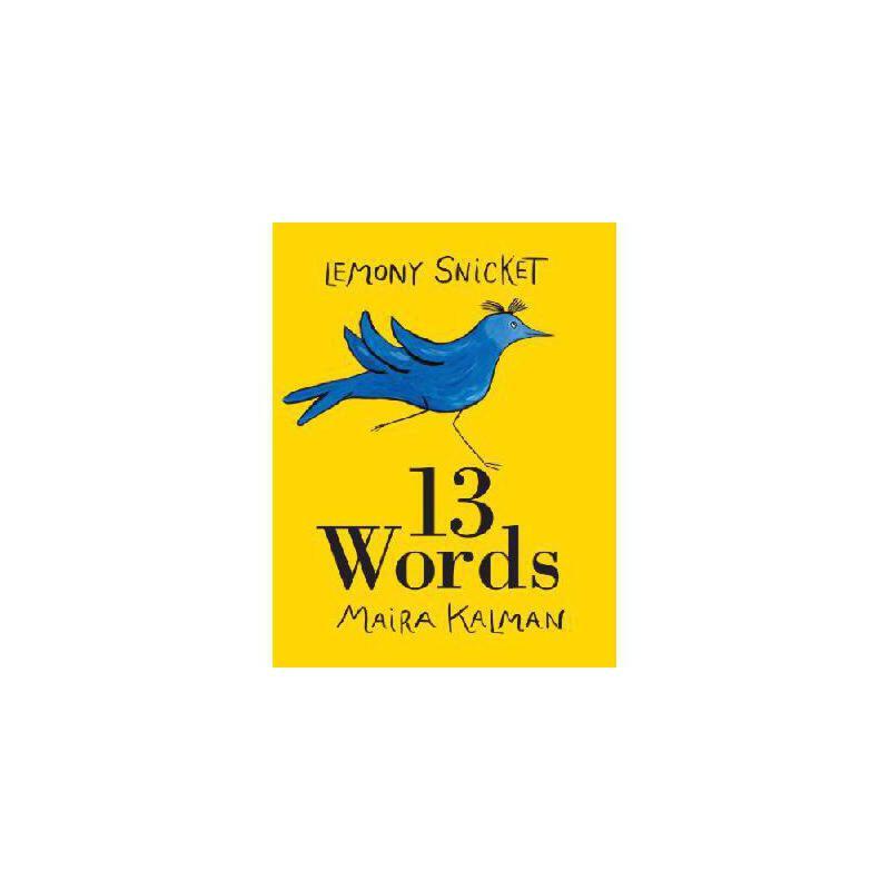 【预订】13 Words Y9780061664670 美国库房发货,通常付款后3-5周到货!