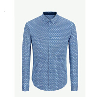 youngor 雅戈尔 新品 YZ52232HAA 男士休闲 蓝色针织T恤