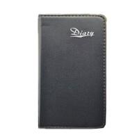 随身记事簿小记事本迷你口袋本子便携笔记本子商务黑皮小本子