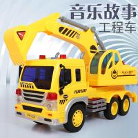 儿童玩具车1-6周岁3岁 开拓者工程车2会讲故事的挖掘机挖土车4