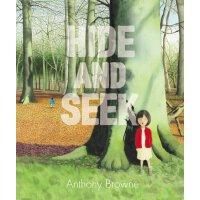Anthony Browne: Hide and Seek 英文原版 捉迷藏 安东尼・布朗新书 精装绘本 姐弟之情