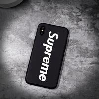 潮牌克罗心iphone6plus手机壳苹果8/7plus保护套xs max硅胶夜光xr 【iPhone x】夜光sup