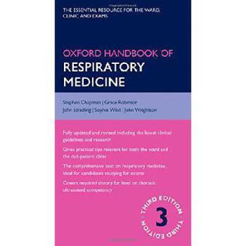 【预订】Oxford Handbook of Respiratory Medicine 9780198703860 美国库房发货,通常付款后3-5周到货!