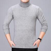 №【2019新款】胖子冬天穿的男士羊毛衫冬中老年高领本命年加厚毛衣加肥加大码针织打底衫