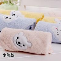 家用小毛巾正方形儿童小孩洗脸四方巾小方巾柔软吸水 35x35cm