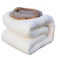 手工棉花被子冬被全棉加厚保暖纯棉被芯棉絮床垫单双人春秋被褥子 【足16斤】新棉花 无异味 180x200cm 良心品质