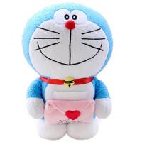 正版哆啦a梦公仔机器猫叮当玩偶抱枕毛绒玩具蓝胖子儿童女生礼物