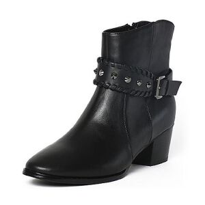 Tata/他她冬季时尚通勤女靴FG342DD6