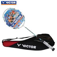 VICTOR胜利羽毛球拍MX-7600 碳纤维男女初级羽毛球拍单拍尖峰系列