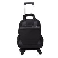 牛津布商务休闲拉杆包手提袋万向轮登机行李箱女旅行箱男士布箱子 中
