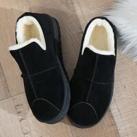 雪地靴女新款棉鞋女冬季加绒网红豆豆棉鞋女面包鞋防滑鞋子女