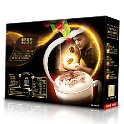 【中粮我买】雀巢咖啡馆藏咖啡卡布奇诺12条装