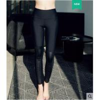 长裤百搭纯色速干健身裤透气高腰显瘦运动瑜伽裤女高弹力紧身跑步裤