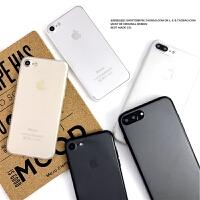 简约磨砂iphone7手机壳6splus保护套苹果5se亚克力xr藤原浩XSMAX iphone 7/8:〈磨砂〉黑边
