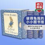 正版现货 彼得兔我的小小图书馆 英文原版绘本 Peter Rabbit My First Little Library