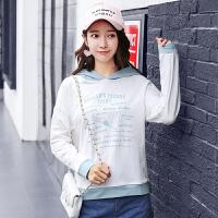 连帽卫衣女秋冬新款ins超火的外套韩版学生保暖长袖t恤宽松上衣服