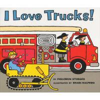 I Love Trucks 我喜欢卡车(入选美国幼儿园教材) ISBN9780064437585