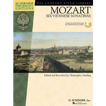 【预订】Mozart - Six Viennese Sonatinas: Piano [With CD (Audio)] 预订商品,需要1-3个月发货,非质量问题不接受退换货。