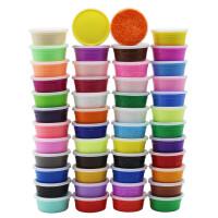 手工儿童轻粘土彩泥套装幼儿园玩具24色太空泥粘土泥制作空泥超轻粘土24色套装儿童玩具36色太空彩