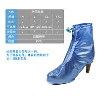 防雨鞋套男女士高筒防水鞋套加厚底耐磨防滑儿童防沙 雨靴套