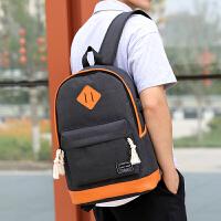 双肩包男女大容量电脑包潮流大学生防泼水书包休闲旅行包