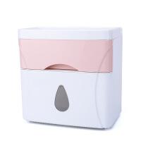 卫生间置物架壁挂吸壁式吸盘厕所收纳盒免打孔浴室用具用品置物架