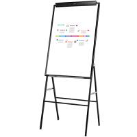 得力7890白板磁性办公支架式黑板教学擦写字板家用会议板多规格