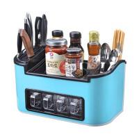 厨房置物架  调味瓶罐刀架   厨房用品 收纳储物架  沥水用具 调料盒套装