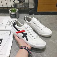 鞋子男士帆布鞋男2019新款休闲小白鞋男鞋韩版百搭潮鞋学生运动板鞋6801DC