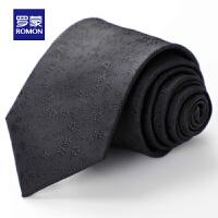 【预估到手价:47.2叠券更优惠】罗蒙男士2021夏季新款商务绅士正装西服简约百搭礼盒精装印花领带