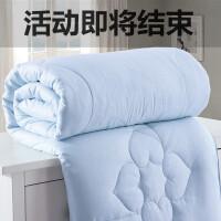 特价纯棉蚕丝被桑蚕丝春秋被空调夏凉被子母被双人被芯4/6斤