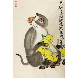 李燕《大圣子孙》著名画家