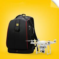 A27双肩无人机相机包摄像机背包男女户外摄影包大疆飞机包s6 酷黑红边加强版