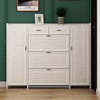 鞋柜架玄关柜北欧窄柜子小户型17cm透气家用门口大容量入户门厅柜
