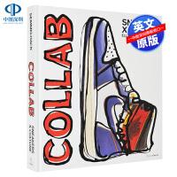 英文原版 运动鞋x文化:合作潮牌球鞋合作款图录艺术书 时尚品牌画册 Sneakers x Culture: Collab