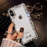 网红oppo手机壳女款plus奢华水钻潮牌r11plus全包软壳带钻