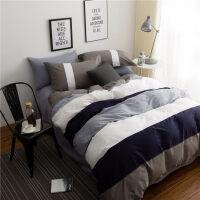 被子床垫床单枕头六件套简约欧式全棉床单四件套纯棉被褥套装六件套宿舍床上三件套1.2m床