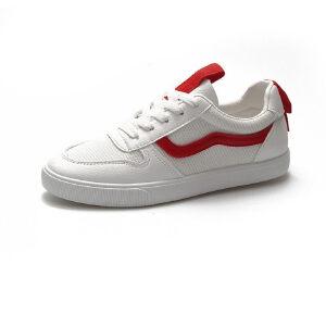 WARORWAR法国YM40-18382019新品四季学院透气网布平底鞋舒适女鞋潮流时尚潮鞋百搭潮牌板鞋