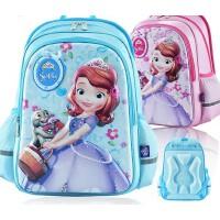 迪士尼书包小学生女童1-3年级6-12周岁苏菲亚公主减负儿童双肩