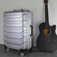 20180605095238493铝框拉杆箱深框登机箱万向轮行李箱潮流休闲商务皮箱子舒适百搭大容量密码箱20英寸手提箱