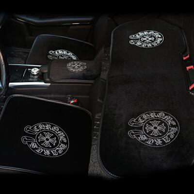 克罗心镶钻汽车坐垫冬季毛绒通用男女士车垫车载车用小三件套座垫
